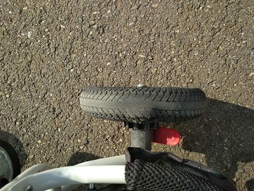 Лопнула покрышка на детском велосипеде